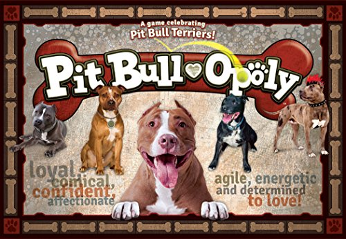 - Late for the Sky PITB Pit Bull-Opoly Board Games