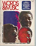 WORDS & MUSIC Magazine July 1972 BB King Jack Cassady Hot Tuna David Bowie Atomic Rooster Gladys Knight & The Pips Led Zeppelin (Words & Music Magazine)