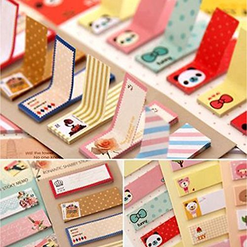 Toyofmine Kawaii Korean sticker post-it bookmark point it Schedule memo flags sticky notes