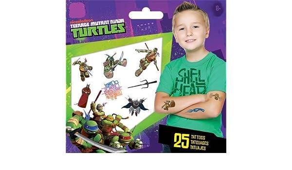 Amazon.com: Teenage Mutant Ninja Turtles Tattoo: Toys & Games