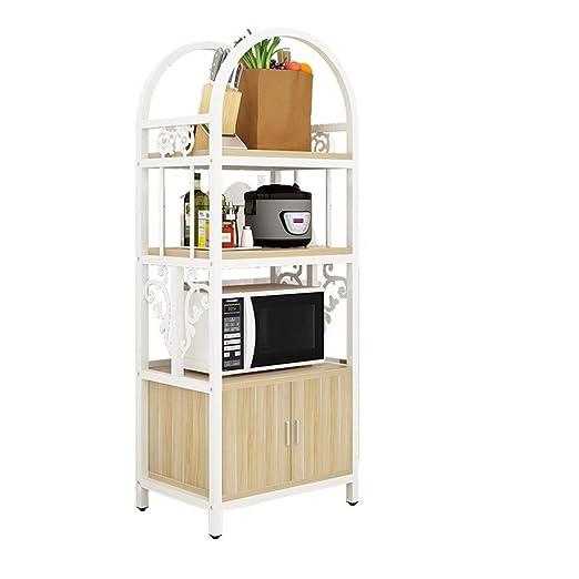 Estantes de microondas para cocina Estante de almacenamiento de ...