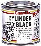Peinture à haute température–250ml–Noir satiné