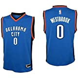 Outerstuff Youth Russell Westbrook Oklahoma City Thunder #0 Road Jersey Blue (Youth Medium 10/12)