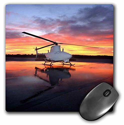 3dRose Navys Fire Scout Helicopter at Sunrise Mouse