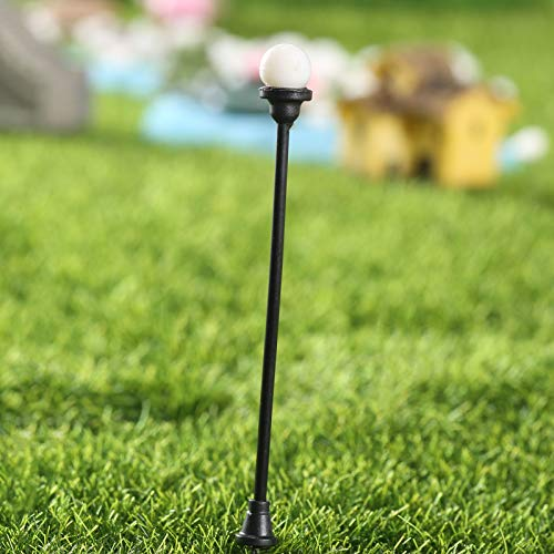 (MONICO : 5pcs Micro Landscape Bonsai Plant Resin Craft Garden Decor Stakes DIY Craft Decor Ornament Single Head Garden Light)