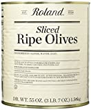 Roland Foods Sliced Ripe Olives, 55 Ounce