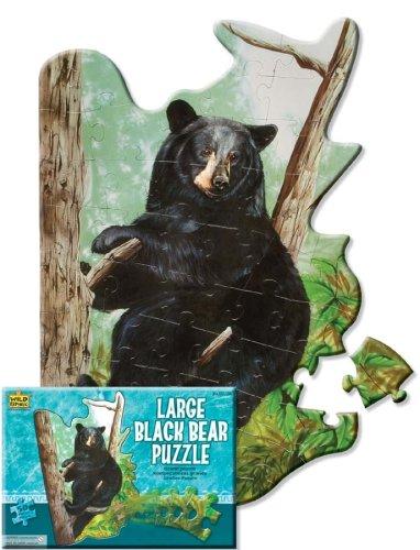 Black Bear 50pc Floor Puzzle Wild Republic 64578
