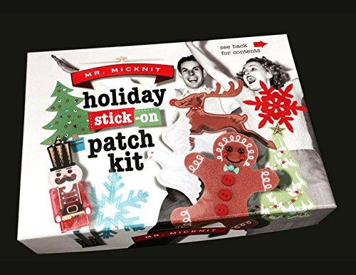 Mr. Micknit Christmas 2014 Gingerbread Tree Snowflake DIY Kit