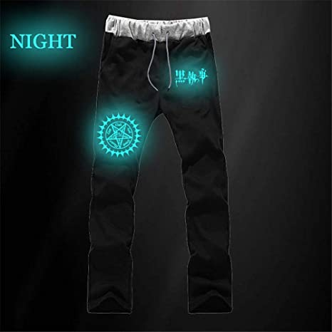 Spricen Black Butler Anime Pants Trousers Pantalón Chándal For Hombre Mujer Jogger Sport Pantalones Chandal Hombres Algodón Cosplay Sweat Pants con Bolsillos: Amazon.es: Deportes y aire libre