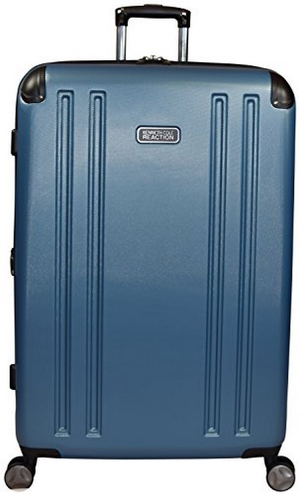 Kenneth Cole Reaction 8 Wheelin Expandable Luggage Spinner Suitcase 29'' (Ocean Blue) by Kenneth Cole REACTION
