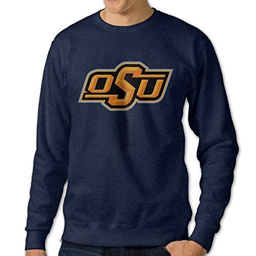 [JJVAT Men's Oklahoma State University Crew-Neck Sweater Size XXL] (Brazil Costume Male)