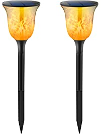 TomCare Solar Lights Solar Path Torches ...