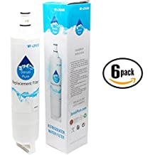 6-Pack Replacement KitchenAid KSCS25FKSS01 Refrigerator Water Filter - Compatible KitchenAid 4396508, 4396509, 4396510 Fridge Water Filter Cartridge