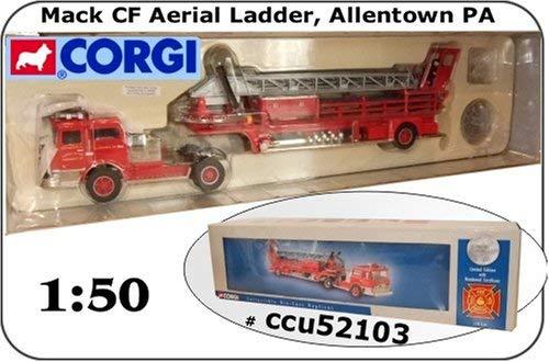 Corgi Diecast Trucks - Corgi Die-cast Mack Aerial Ladder Truck
