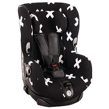Housse de siège auto pour Maxi Cosi Axiss noir avec des