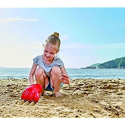 Hape Beach and Sand Toys Power Paw Toys, Red: Toys & Games