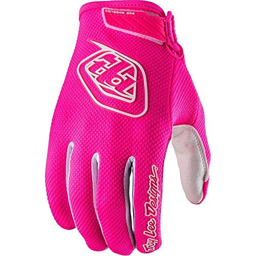 2018 Troy Lee Designs Youth Air Gloves-Flo Pink-YL