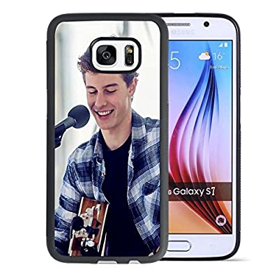 Samsung Galaxy S7 Case,ULAY Shawn Mendes Plaid shirt,Confident smile Case For Samsung Galaxy S7