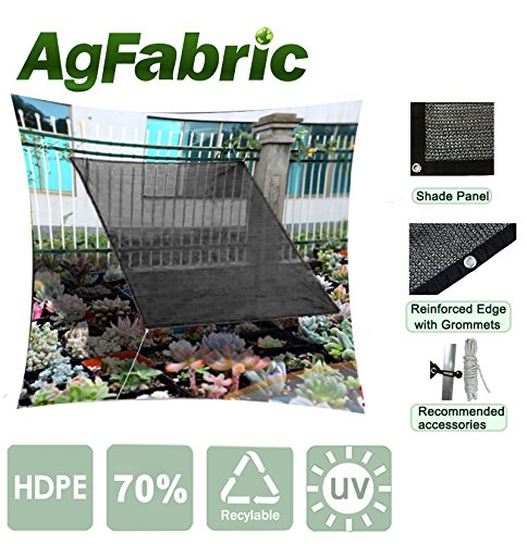 Agfabric 70% Rating- 6ftx 12ft Prefabricated Sunblock Shade - Prefabricated Awnings