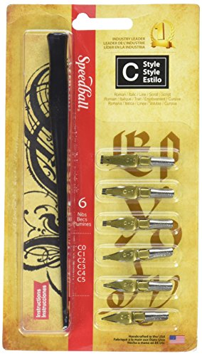 (Speedball Calligraphy C-Style Lettering Set)