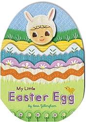 My Little Easter Egg (Fuzzy Little Puppet Book)