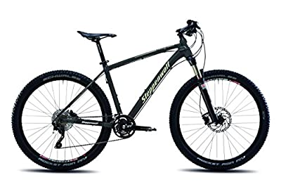 Steppenwolf Men's Tundra Pro Hardtail Mountain Bike, 27.5 inch wheels, 16.5 inch frame, Men's Bike, Antracite/Desert Matte Black, 99% assembled