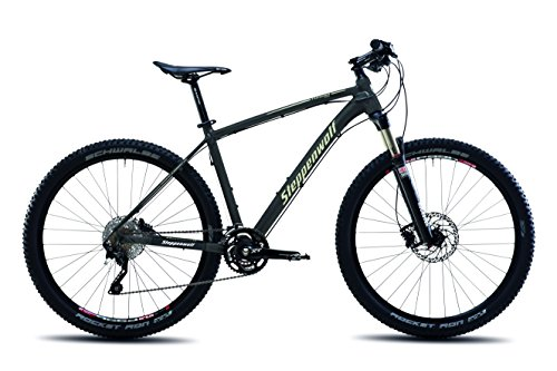 Steppenwolf Men's Tundra Pro Hardtail Mountain Bike, 27.5 inch wheels, 18.5 inch frame, Men's Bike, Antracite/Desert Matte Black, 99% assembled