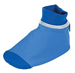 Sun Smarties Baby Boys UPF 50+ Non-Skid Sand and Water Socks Small Light Blue