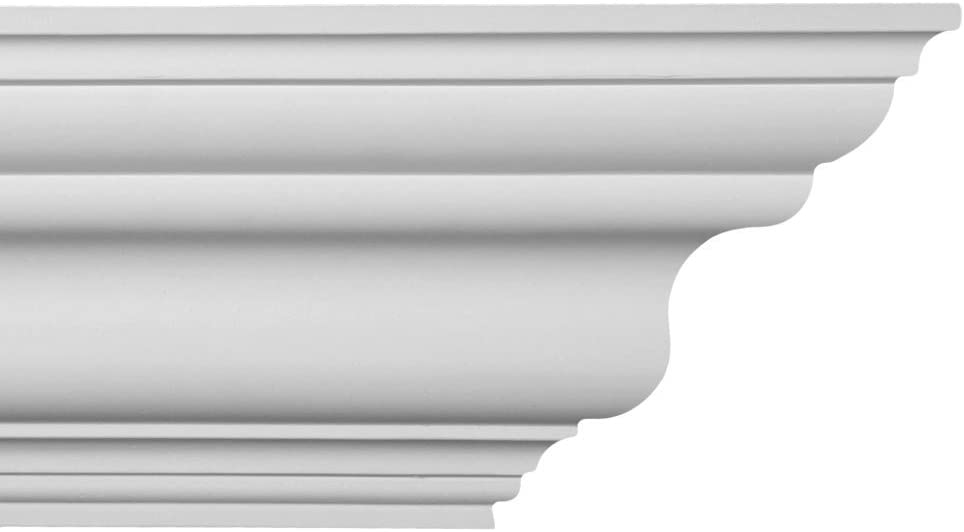 CM-1079 Plastic Crown Moluding Manufactured with a Dense Architectural Polyurethane Compound 6 Crown Molding