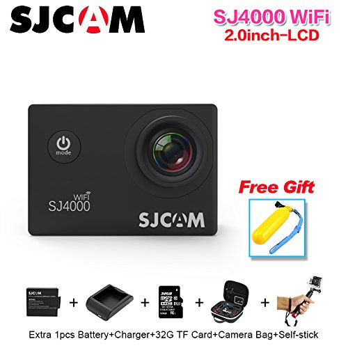 SJCAM SJ4000 Wifi 1080P Full HD Action Camera Sport DVR (Silver) - 8