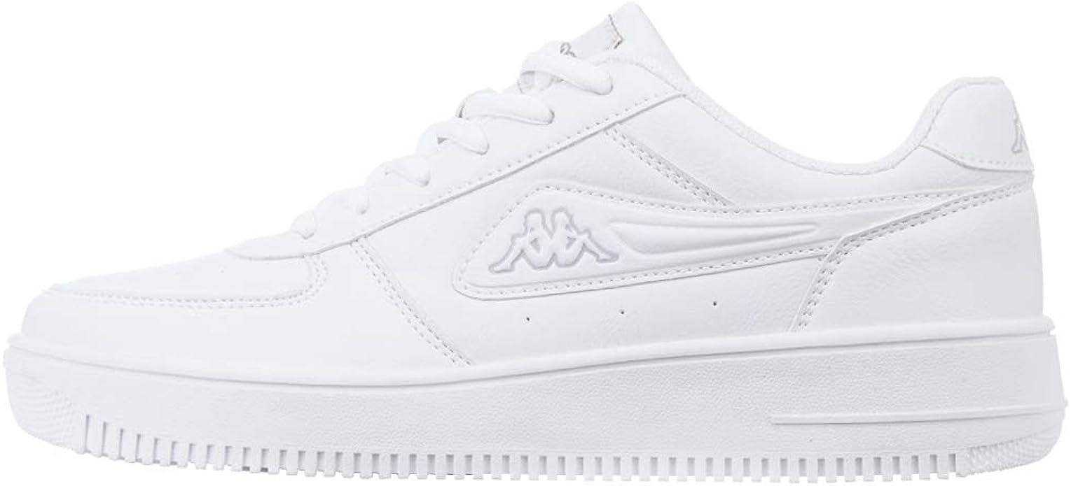 Kappa Bash Sneaker Unisex Erwachsene Weiß