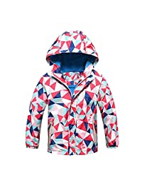 Baby Toddler Boys Girls Fall Winter Clothes Hoodie Jacket Overcoat 2-7 Years Old Kids Outdoor Waterproof Coat