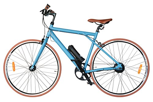 Price comparison product image T4B H3 Volt Fixie - Carbon Belt,  No Chain,  Bafang 200W Brushless Electric Motor,  Single Speed,  13.6 kg,  Samsung Li-Ion Battery - 24V5.2Ah - Blue