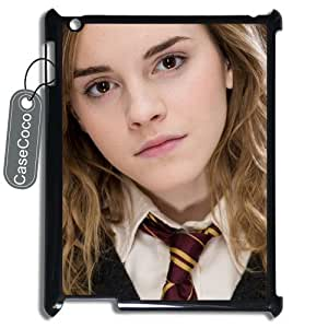 CASECOCO(TM) Harry Potter iPad 2/3/4 Case - Protective Hard Back / Black Rubber Sides Case for iPad (2nd,?3rd,?4th?Gen)