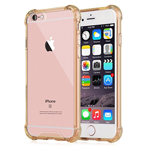 iPhone SE 5S 5 Case, NOMO Clear Grip iPhone SE 5S 5 Case with Air Pocket Reinforced Cornerson on TPU Bumper for iPhone SE 5S 5 - (5 Reinforced Pockets)