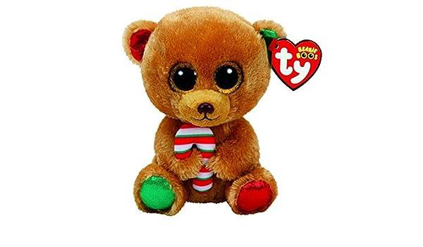 Amazon.com: JEWH Ty Beanie Boos Elephant and Monkey Plush Doll Toys for Girl Rabbit Fox Cute Animal Owl Unicorn Cat Ladybug (Bear): Toys & Games