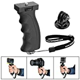 Fantaseal Ergonomic Camera Grip Mount Compatible with Nikon Canon Sony DSLR Camera Camcorder+ GoPro Hero6 5/4/3/Session Sony Garmin Virb SJCAM Action Camera Hand Grip Stabilizer Handle Holder