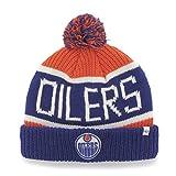 NHL Edmonton Oilers Calgary Cuff Knit Hat, One Size, Orange