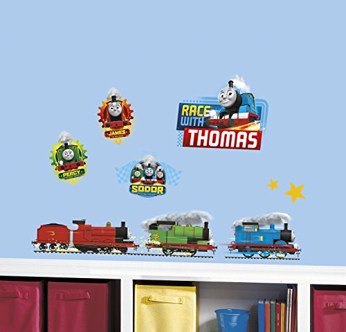 Cheap  RMK3235SCS Thomas and Friends Racing Peel and Stick Wall Decals,
