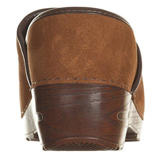 VialeScarpe Sas-7488vlcu_36 - Zuecos para mujer marrón cuero 36 cuero