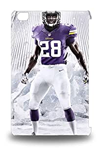 Ipad Case New Arrival For Ipad Mini/mini 2 Case Cover Eco Friendly Packaging NFL Minnesota Vikings Adrian Peterson #28 ( Custom Picture iPhone 6, iPhone 6 PLUS, iPhone 5, iPhone 5S, iPhone 5C, iPhone 4, iPhone 4S,Galaxy S6,Galaxy S5,Galaxy S4,Galaxy S3,Note 3,iPad Mini-Mini 2,iPad Air )