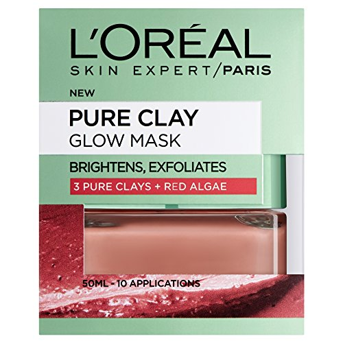 Dermo Expertise Pure Clay Glow Mask, Red 50 ml by Dermo Expertise