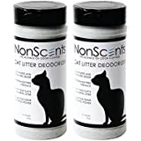 NonScents Cat Litter Deodorizer (2 Jars, 16oz. each)