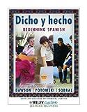 download ebook dicho y hecho beginning spanish unbound 8th edition for john jay college pdf epub