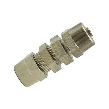 4mm MagiDeal Schnellkupplung Stecker Luftleitung Schlauchkupplung Kompressor 4-16mm