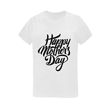 785346f6 Custom Your Own Photo or Text Logo T-Shirts Personalized Happy Mother's Day  Tee Shirts