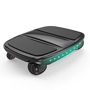 FWHEEL 4 Wheels Portable Somatosensory Car Electric Kick Scooter iCarbot with APP, Powered Walkcar