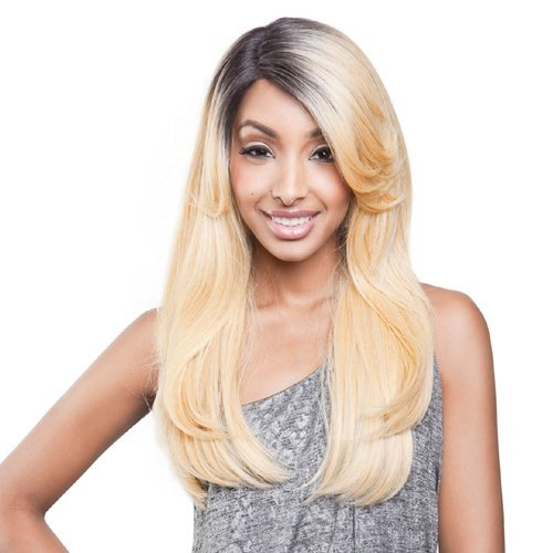 ISIS BROWN SUGAR Human Blended Lace Front Wig - BS201 (#1 - Jet Black) by ISIS HAIR