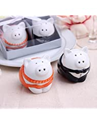 Couple Pigs Salt And Pepper Shaker For Wedding Favors Set Of 100