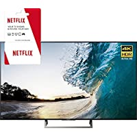 Sony XBR-65X850E 65-inch 4K HDR Ultra HD Smart LED TV (2017 Model) w/ 3 Month Netflix Subscription